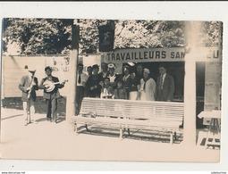 TRAVAILLEURS SANS DIEU CARTE PHOTO BON ETAT - Syndicats