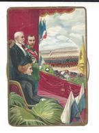 AU BON MARCHE  Système Disque  Châlons Revue Nicolas II  ( 1896 ) - Au Bon Marché