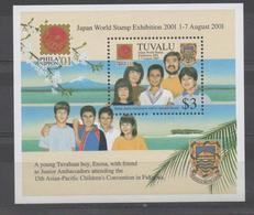 Philanippon - Worldstamp Exhibition 2001  XXX - Tuvalu