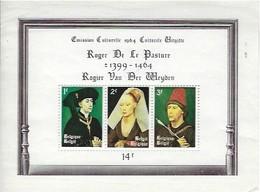 Feuillet Souvenir - Emission Culturelle 1964 Culturele Uitgifte - Roger De Le Pasture 1399-1464 - Feuillets