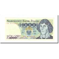 Billet, Pologne, 1000 Zlotych, 1982, 1982-06-01, KM:146c, SUP+ - Pologne