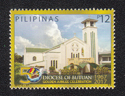 Filippine Philippines Philippinen Filipinas 2017 Diocese Of Butuan Singles 12p - MNH** (see Photo) - Filippine