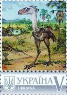 Ukraine 2019, Prehistoric Fauna, Birds, 1v - Ukraine