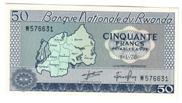 Rwanda 50 Francs 01/01/1976 UNC - Rwanda