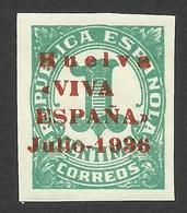 Spain, Huelva 1 C. 1936, MH - Nationalistische Ausgaben