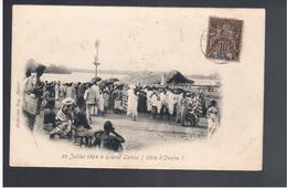 Cote D'Ivoire 14 Juillet 1904 à Grand Lahou 1905 Old Postcard - Côte-d'Ivoire