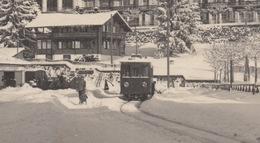 OUDE POSTKAART - ZWITSERLAND - SCHWEIZ -    VILLARS -  TRAM - TREIN - PALACE HOTEL - VD Vaud