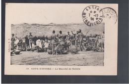 Cote D'Ivoire Le Marché De Sakala 1914 Old Postcard - Côte-d'Ivoire