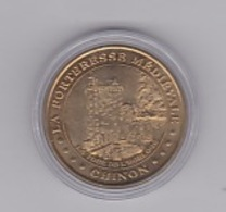 Chinon Forteresse Médieval La Tour De L'horloge 2000 - Monnaie De Paris