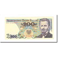 Billet, Pologne, 200 Zlotych, 1988, 1988-12-01, KM:144c, SUP - Pologne