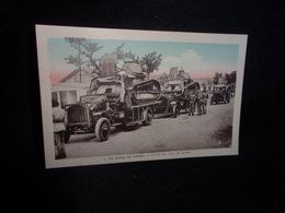 Aveyron. TIRAGE ORIGINAL . Le Camp Du Larzac.Arrivée Des Chars De Combat .Voir 2 Scans . - Francia