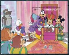 NB - [91554]SUP//**/Mnh-GRENADA - Walt Disney - Le Prince Et Le Pauvre, Célébration, B.D - Disney
