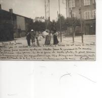 Izieux; Carte Photo Postéee  D'Izieux En 1904;  (gondolée En Deux Endroits Au Verso); Réf 202 - Saint Chamond