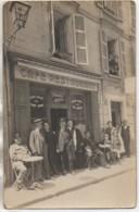 03 VICHY  Carte Photo D'un Café Restaurant - Vichy