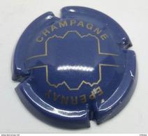 CAPSULE DE MUSELET CHAMPAGNE GENERIQUE EPERNAY BLEUE BLEU ET OR - Champagne