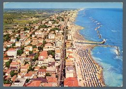 °°° Cartolina - Viserbella Veduta Aerea Viaggiata °°° - Rimini