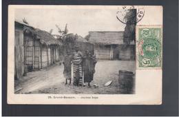 Cote D'Ivoire Grand- Bassam - Jeunes Boys 1907 Old Postcard - Côte-d'Ivoire