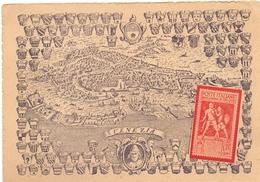 VENEZIA CARTOLINA POSTALE ADUNATA FILATELICA 1942    (FEB200367) - Esposizioni Filateliche