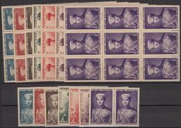 Nachlässe: Umfangreicher Und Vielseitiger Alle Welt-Steckkarten-Posten In Vier Kartons Mit Enorm Vie - Briefmarken