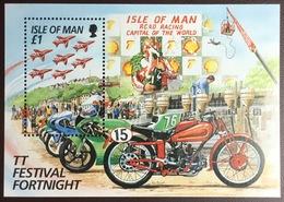 Isle Of Man 1996 TT Tourist Trophy Irish Winners Aircraft Minisheet MNH - Isle Of Man
