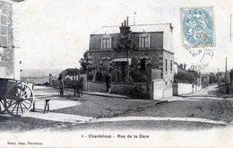 78   CHANTELOUP  LES VIGNES  RUE DE LA GARE - Chanteloup Les Vignes