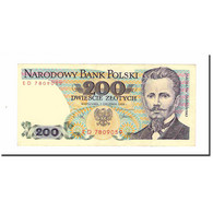 Billet, Pologne, 200 Zlotych, 1988, 1988-12-01, KM:144c, TTB+ - Pologne