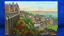 View From The Terrace Quebec Canada - Québec - La Citadelle
