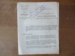 ETAT FRANCAIS LILLE LE 15 FEVRIER 1943 LE PREFET DU NORD CIRCULAIRE N°75 RATIONNEMENT DU TEXTILE 8 PAGES - Historische Dokumente