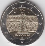 MONEDA 2 € ALEMANIA 2020 BRANDEMBURGO - Alemania