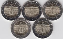 MONEDA 2€ ALEMANIA 2020 BRANDEMBURGO-5 CECAS - Alemania