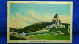 Oratoire Saint-Joseph Du Mont-Royal Canada - Montreal