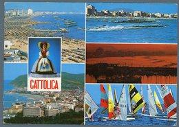 °°° Cartolina - Cattolica Vedute Viaggiata °°° - Rimini