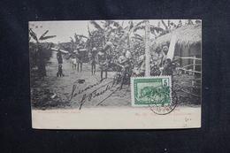 CONGO - Carte Postale - Caravane De Caoutchouc - L 52370 - Französisch-Kongo - Sonstige