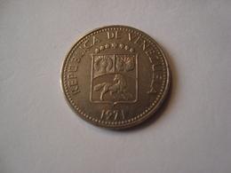 MONNAIE VENEZUELA 10 CENTIMOS 1971 - Venezuela