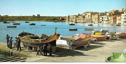 32) VIEW OF MARSASCLA, MALTA. - Malte