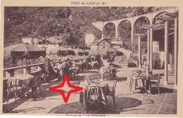 """PONT-du-LOUP.  Terrasse Du Restaurant """"LA RESERVE"""". - Autres Communes"""