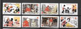 2016 - Croix Rouge - 1270 à 1277 Oblitéré - 3 - Francia