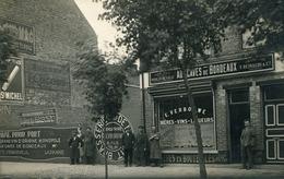 RPCP ; De Panne, La Panne,Au Caves De Bordeaux, Photo Of Old Postcard,  2 Scans - Lieux