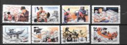 2015 - Croix Rouge - 1132 à 1139 Oblitéré - 1 - Francia