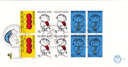 D1 FDC 932-936 Bloc Pays-Bas NVPH E100 De 1969 - FDC