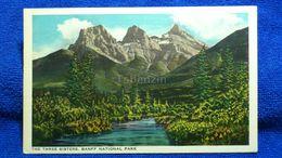 The Three Sisters Banff National Park Canada - Banff