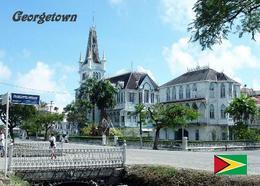 Guyana Georgetown Town Hall New Postcard - Ansichtskarten