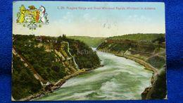 Niagara Gorge And Great Whirlpool Rapids, Whirlpool In Distance Canada - Niagara Falls