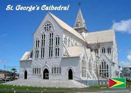 Guyana Georgetown St. George's Cathedral New Postcard - Ansichtskarten