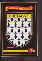 Bretagne Blason Adhésif - Bretagne