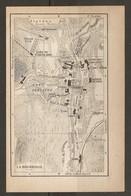 CARTE PLAN 1925 LA BOURBOULLE - TENNIS CLUB GARE FUNICULAIRE CASINO Éts CHOUSSY HIPPODROME THERMES - Topographische Kaarten