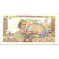 France, 10,000 Francs, Génie Français, 1955, 1955-03-03, TTB+, Fayette:50.73 - 1871-1952 Anciens Francs Circulés Au XXème