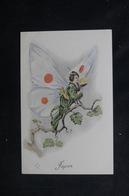JAPON - Carte Postale - Femme Papillon - L 52393 - Japon
