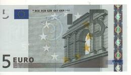 "5 EURO  ""G""  Cyprus    Firma Trichet     E 009 J6     /  FDS - UNC - EURO"