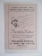 Année(1925) VILLARDS D'HERIA Et PONT DE POITTE  (Jura) PIPE Brochot & Latour   - Ancienne Coupure De Presse - Bruyerepfeifen